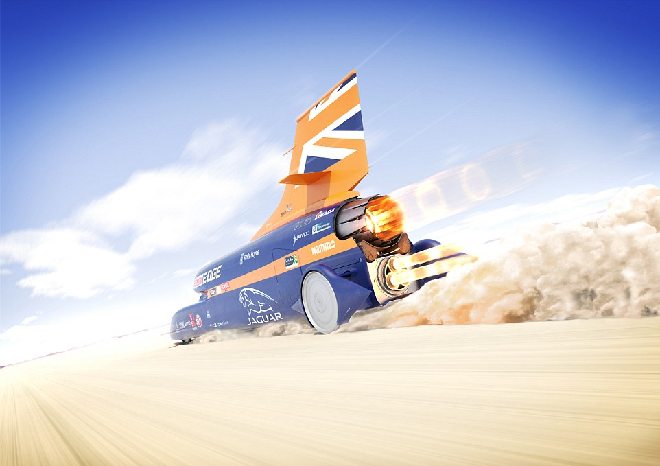Fastest Car In The World Wallpaper 2015 Bloodhound Ssc Unveiled In London Ahead Of 1 000mph Record