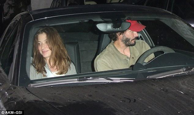 Keanu Reeves Beams A Smile Beside Mystery Brunette At