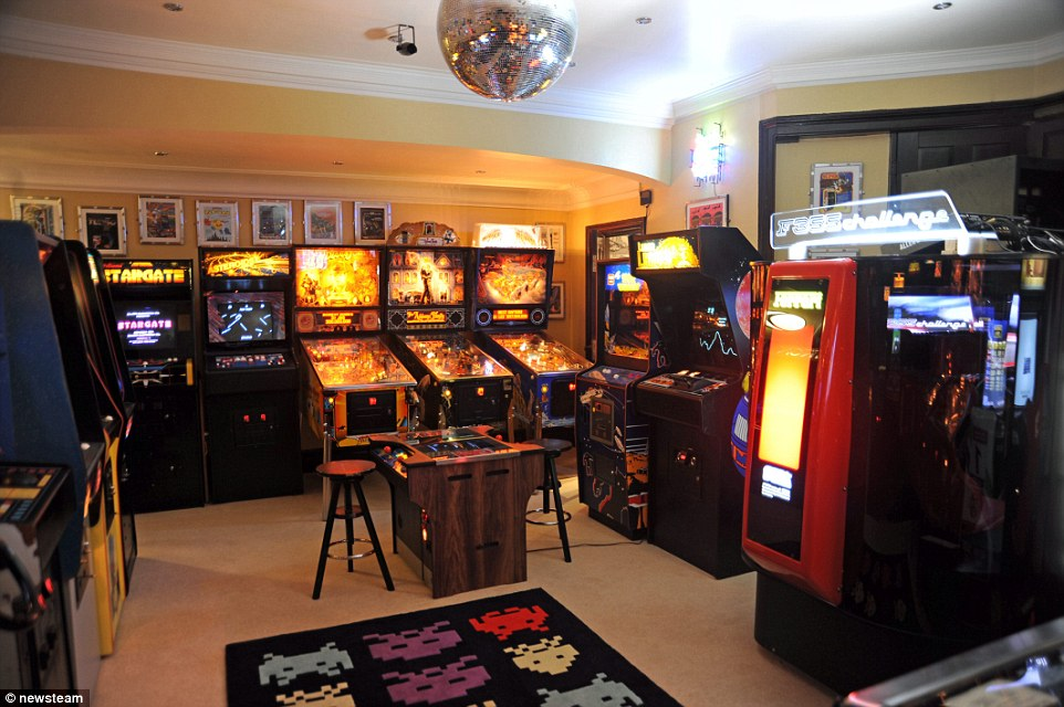 Uk39s Best Games Rooms Compete To Become Man Cave Of The