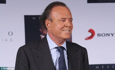 Julio Iglesias 'will never perform again in any of Donald Trump's casinos' | Daily Mail Online