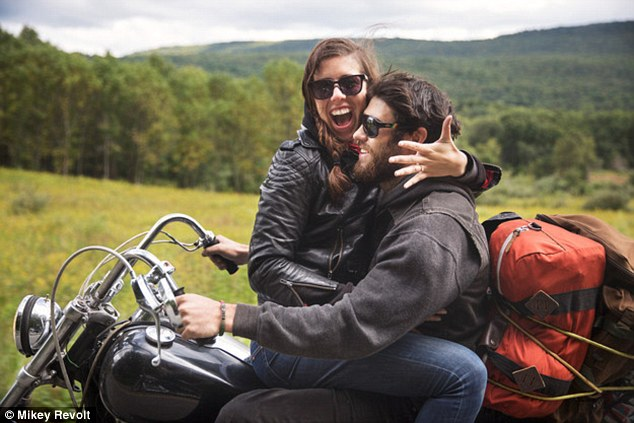 Dirt Bike Wallpaper Girls Jay Cagney And Virgnia Hall S Engagement Shoot Sees Them