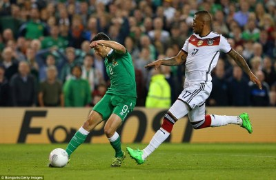 Republic of Ireland 1-0 Germany: Shane Long slams home winner to beat the world champions and ...
