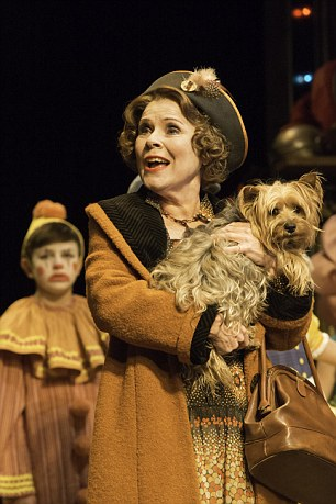 Imelda Staunton's acclaimed portrait of a self-deluded stage mother in the musical Gypsy has been captured on film