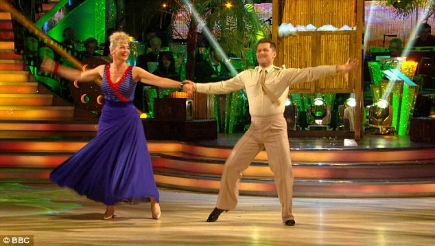 Fun: They were dancing the Quick Step to I'm Gonna Wash That Man Right Outa My Hair from 1958 movie South Pacific