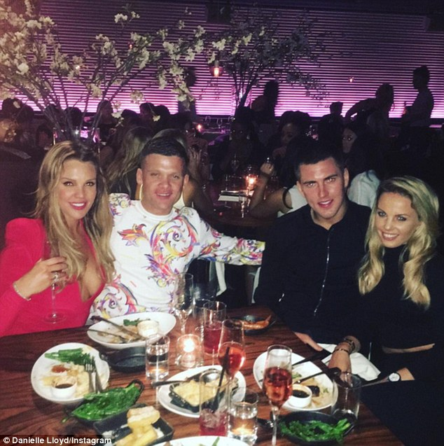 'Amazing night with our besties': Michael is making good friends fast