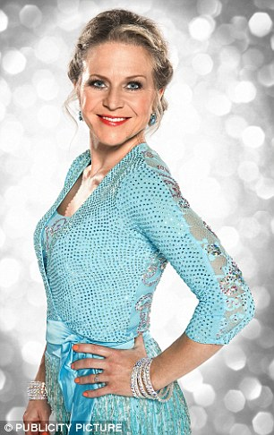 Seeing double! Kellie is juggling a career on Strictly Come Dancing and a leading role EastEnders