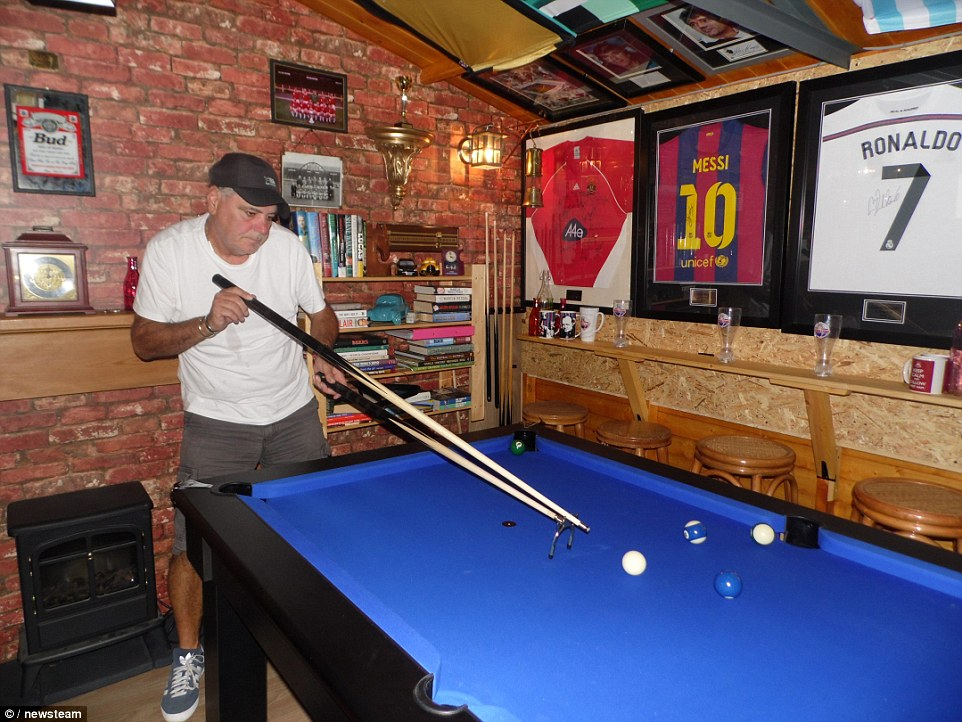 Father Spends Thousands Building 39man Cave39 To Win Games
