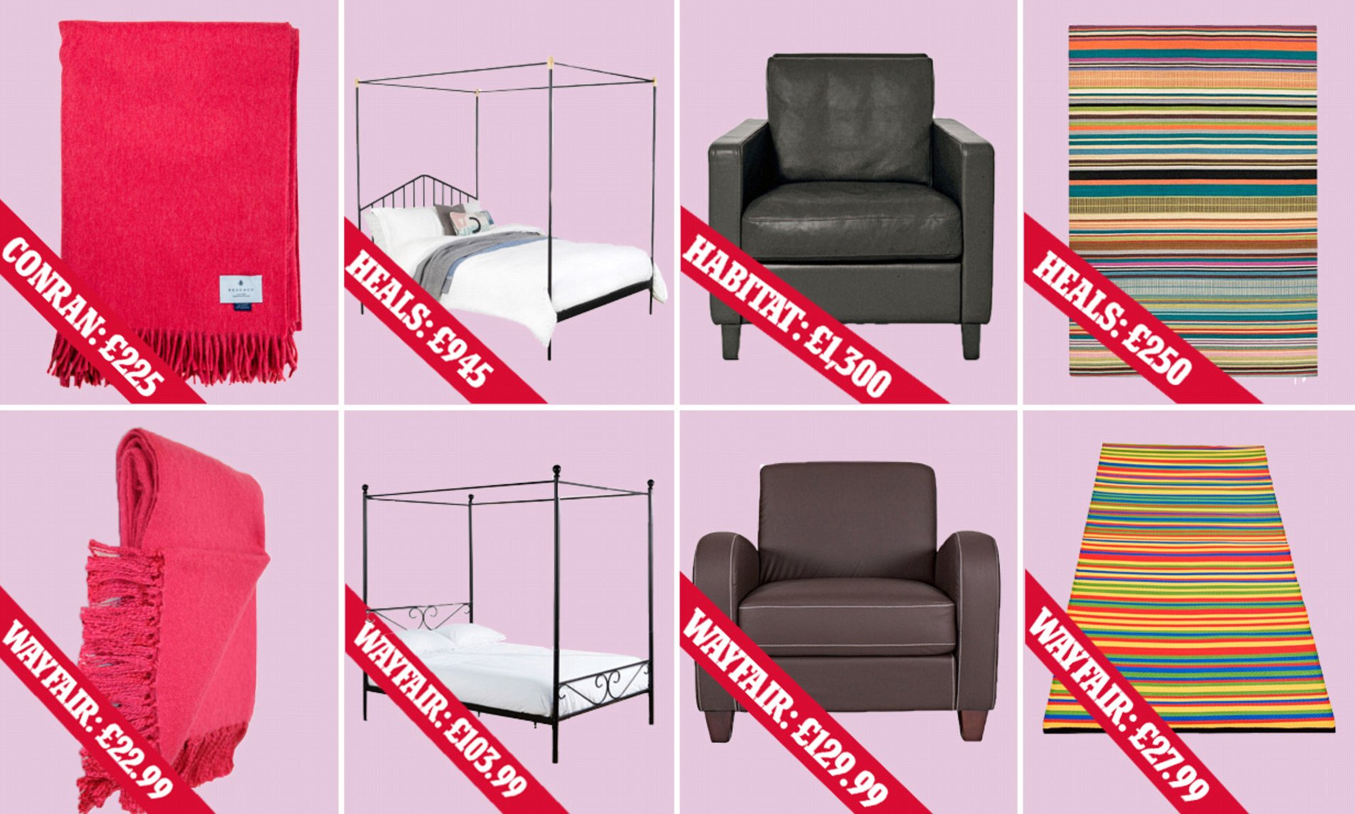 Wayfair Victorian Chairs Femail Tests Wayfair Against Britain S Furniture Stores