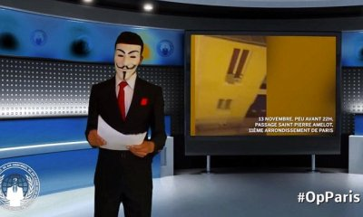 Anonymous declares war on ISIS in YouTube video saying it will 'unite humanity' | Daily Mail Online