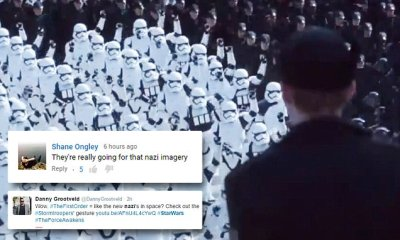 New Star Wars: The Force Awakens trailer reveals Nazi ...