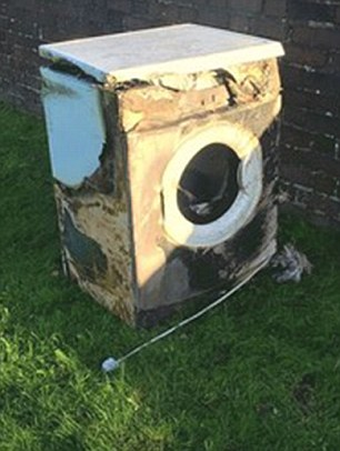 Tumble Dryer Blaze Warning: Alert To Families Over Hotpoint