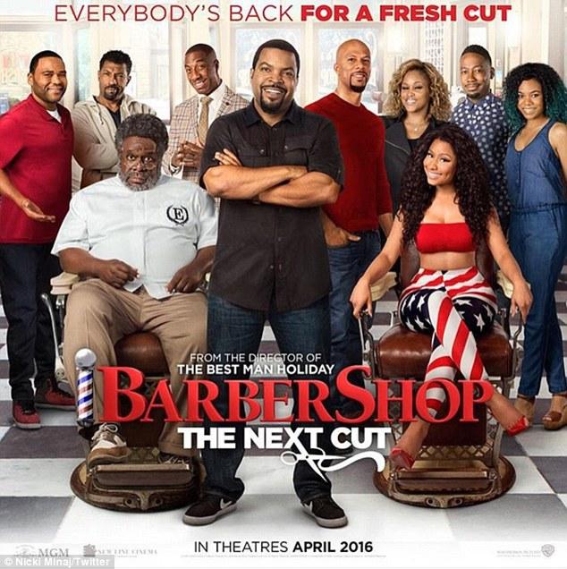 Nicki Minaj stars in hilarious Barbershop 3 trailer with Ice Cube