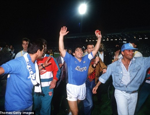 Napoli's recent form has reminded fans of their 1980s heyday when Diego Maradona was in their team