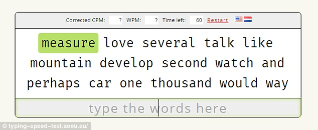Take the Typing Speed Test to reveal how fast YOU can type Daily