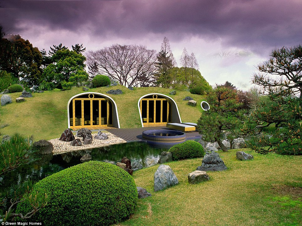 Pool Kaufen Gebraucht Hobbit Holes By Green Magic Homes Are Ready Made And Come