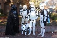 Doberman pinscher dog dresses as Star Wars Stormtrooper in ...