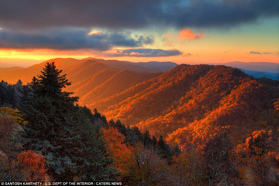 Fall In The Smokies Wallpaper Beautiful Photos Of Us Landscapes Released By Department