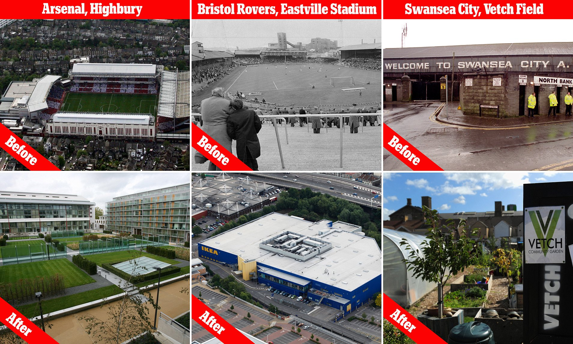Ikea Bank Hotline How Former Football Stadiums Are Transformed Into Luxury