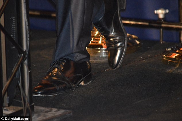 Marco Rubio Wears Some Well Heeled Boots To Campaign In