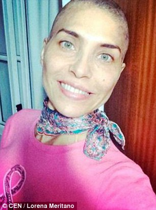 Lorena Meritano is dumped by husband after she told him she needs mastectomy   Daily Mail Online