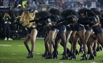While the dancers were dressed head to toe in black costumes, they also wore the black berets that became the Panther's symbol in the Sixties and Seventies
