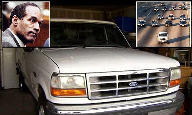 Police Car Chase Wallpaper Ford Bronco Owner From Oj Simpson S Police Chase Has Kept