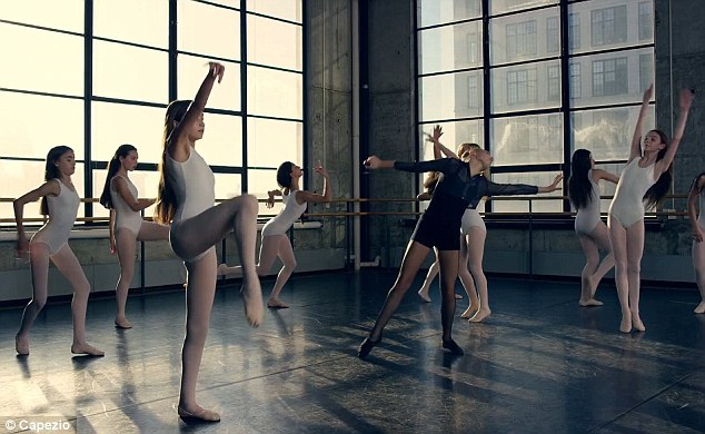 Maddie Zeigler Stars In A Campaign For Dancewear Brand