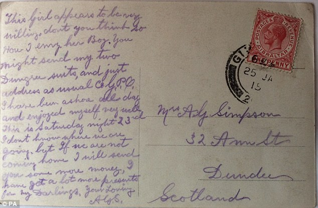 Ww1 Love Letters Reveal The Passion Between Soldiers And