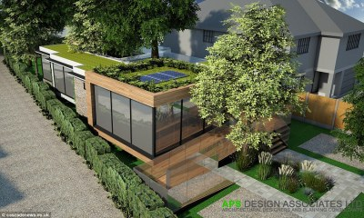 Architects build eco-friendly home AROUND trees to avoid ...