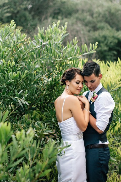 Lesbian couple have commitment ceremony in Sydney | Daily ...