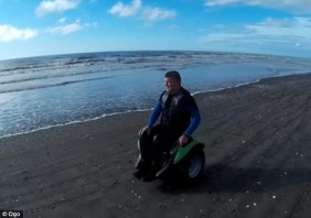 The ¿Ogo¿ (pictured) is claimed to be the only ¿completely hands-free two-wheeled self-balancing transportation device in the world¿ and is intended to give wheelchair-bound users more freedom