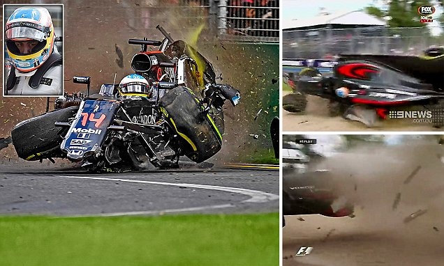 Cop Car Wallpaper Fernando Alonso Says He Is Thankful To Be Alive After