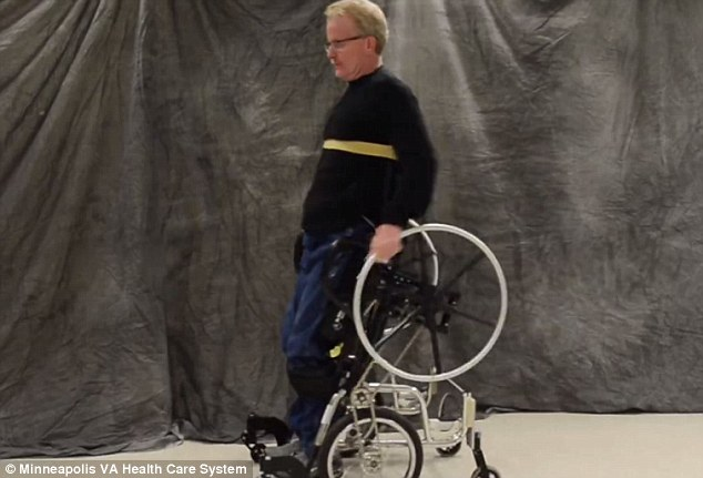 The New Wheelchair That Helps Paraplegics Stand Daily