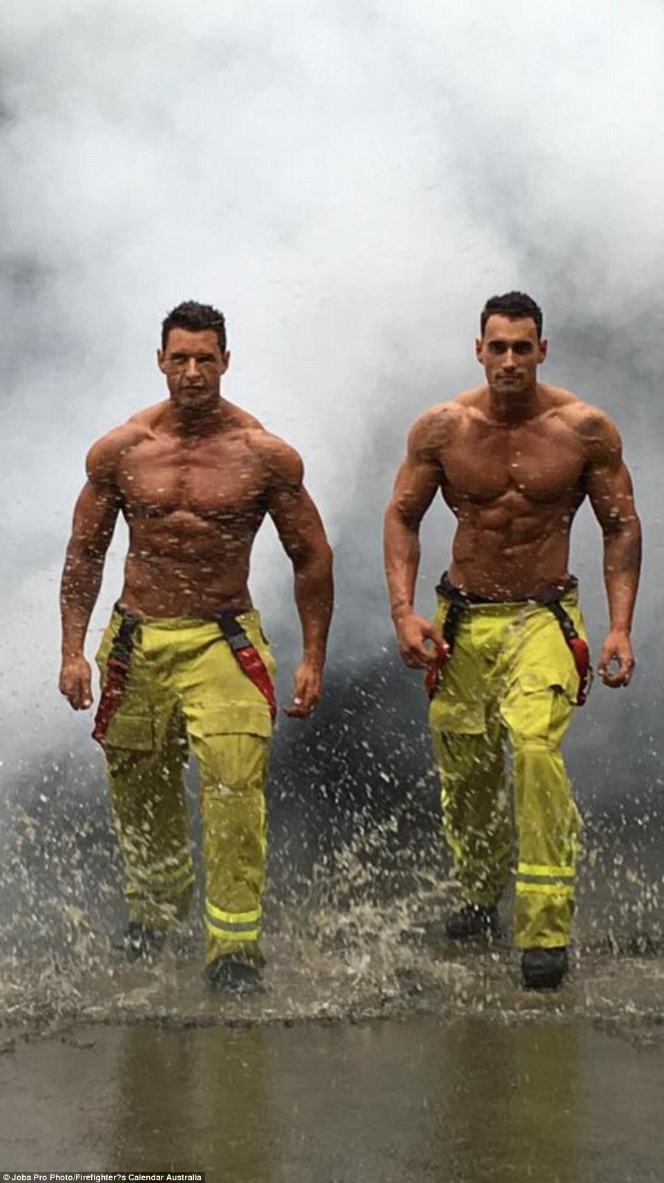 Wallpaper Hd Cute For Men Firefighters Strip Off For 2017 Firefighter S Calendar