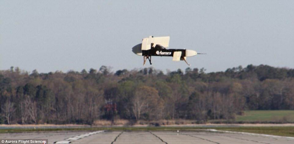 US military \u0027Lightning Strike\u0027 plane takes off VERTICALLY in video