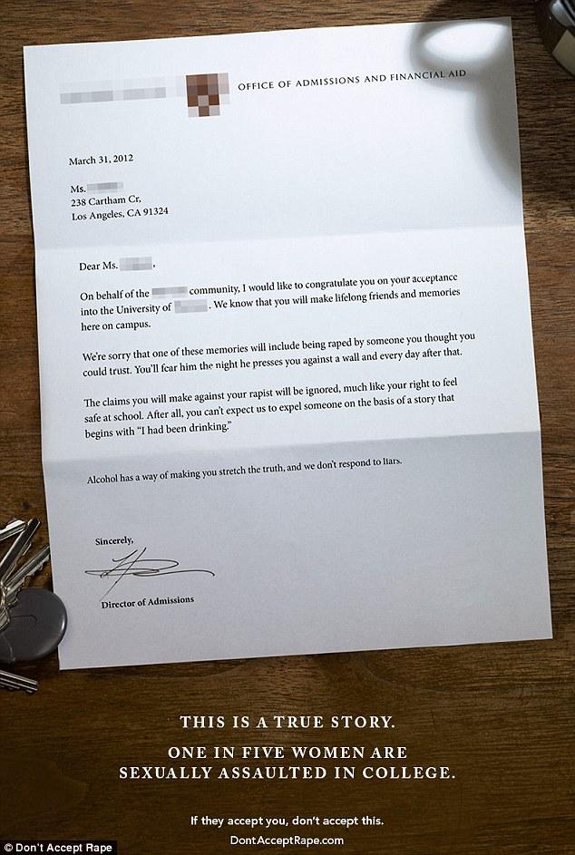 fake college acceptance letter