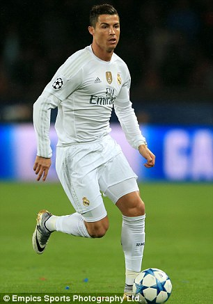 Cristiano Ronaldo has a minute-to-goal ratio of 84.21