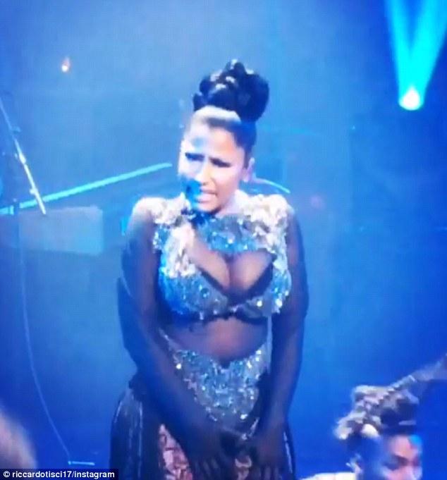 Nicki Minaj puts on an eye-popping performance at Time 100 gala