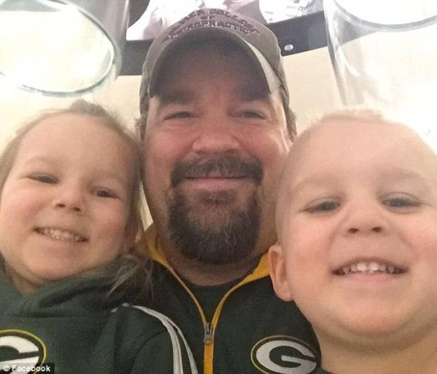Bohn (pictured with his children) sent his brother an email saying goodbye to his family shortly before he and his children were found dead