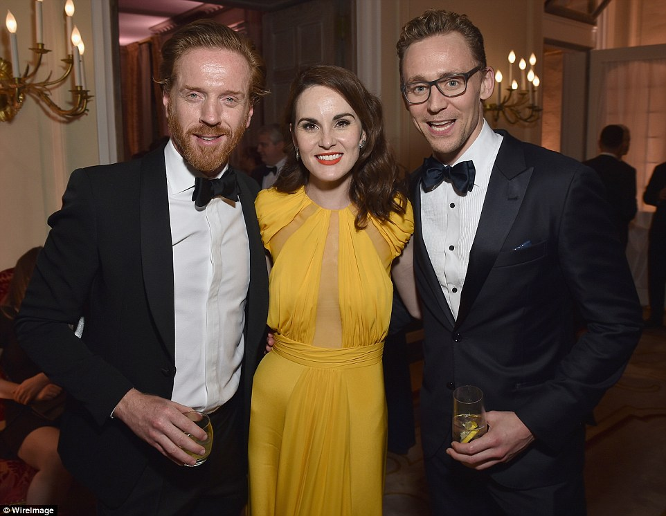 Michelle Dockery Joins Tom Hiddleston And Damian Lewis At