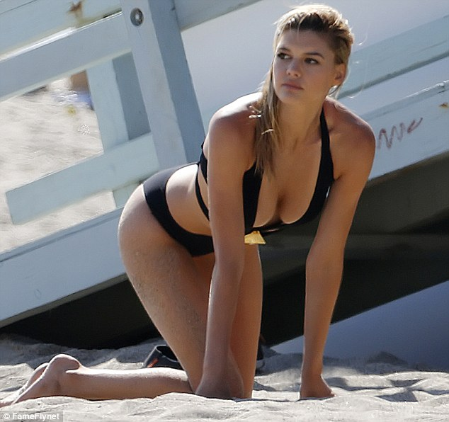 Golf Wallpaper Hd Kelly Rohrbach Poses In Barely There Swimwear During