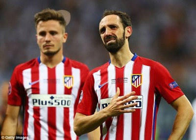 Juanfran thanks Atletico Madrid fans after vital penalty miss in Champions League final defeat ...