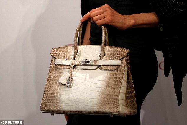 Crocodile Hermes Birkin Bag Loved By Kim Kardashian Sells