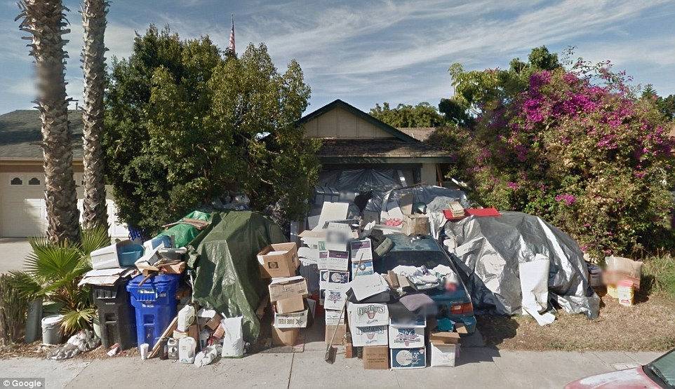 Infamous San Diego Hoarder39s Mira Mesa Home Finally Gets