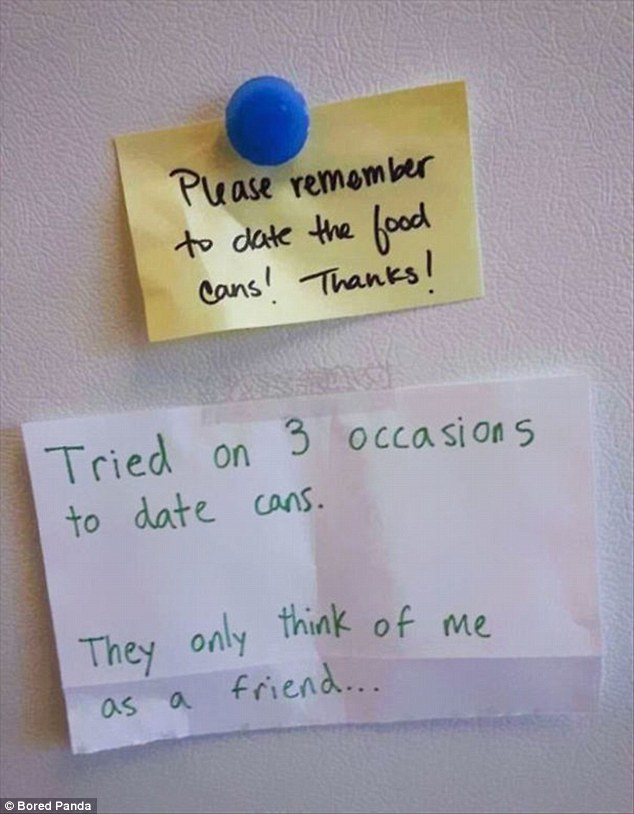 Hilarious passive-aggressive office notes that DEFINITELY cause more - employee superlatives