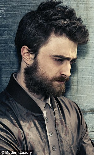 Old Lady Wallpaper Cute Daniel Radcliffe Shows Off Manly Beard On The Cover Of