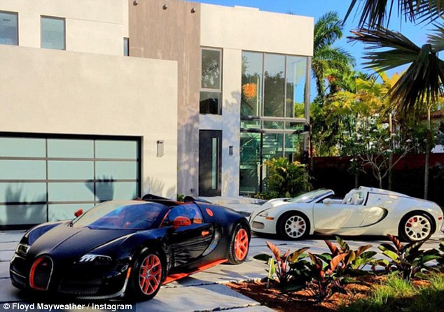 8 Million Dollar Car Wallpapers Floyd Mayweather Buys Another Retirement Home With 7 7m