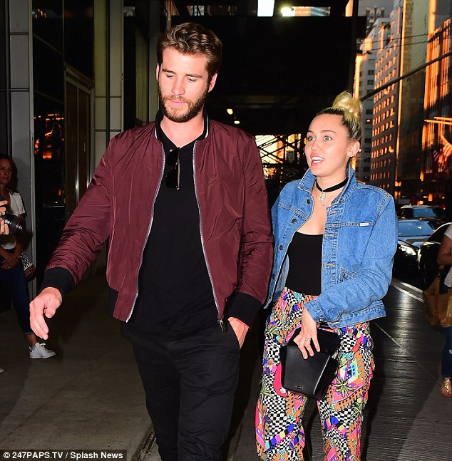 Still going strong: Miley - born Destiny - and Liam reportedly rekindled their on/off romance in December, but only confirmed their relationship in March