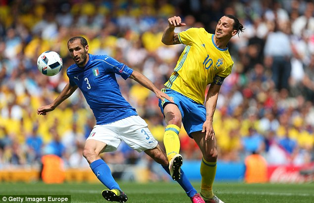 Ibrahimovic has not had a major impact at Euro 2016 and will hope to keep his tournament dreams alive