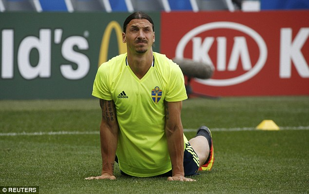 The charismatic striker trained with his international cohorts ahead of their crucial clash on Wednesday